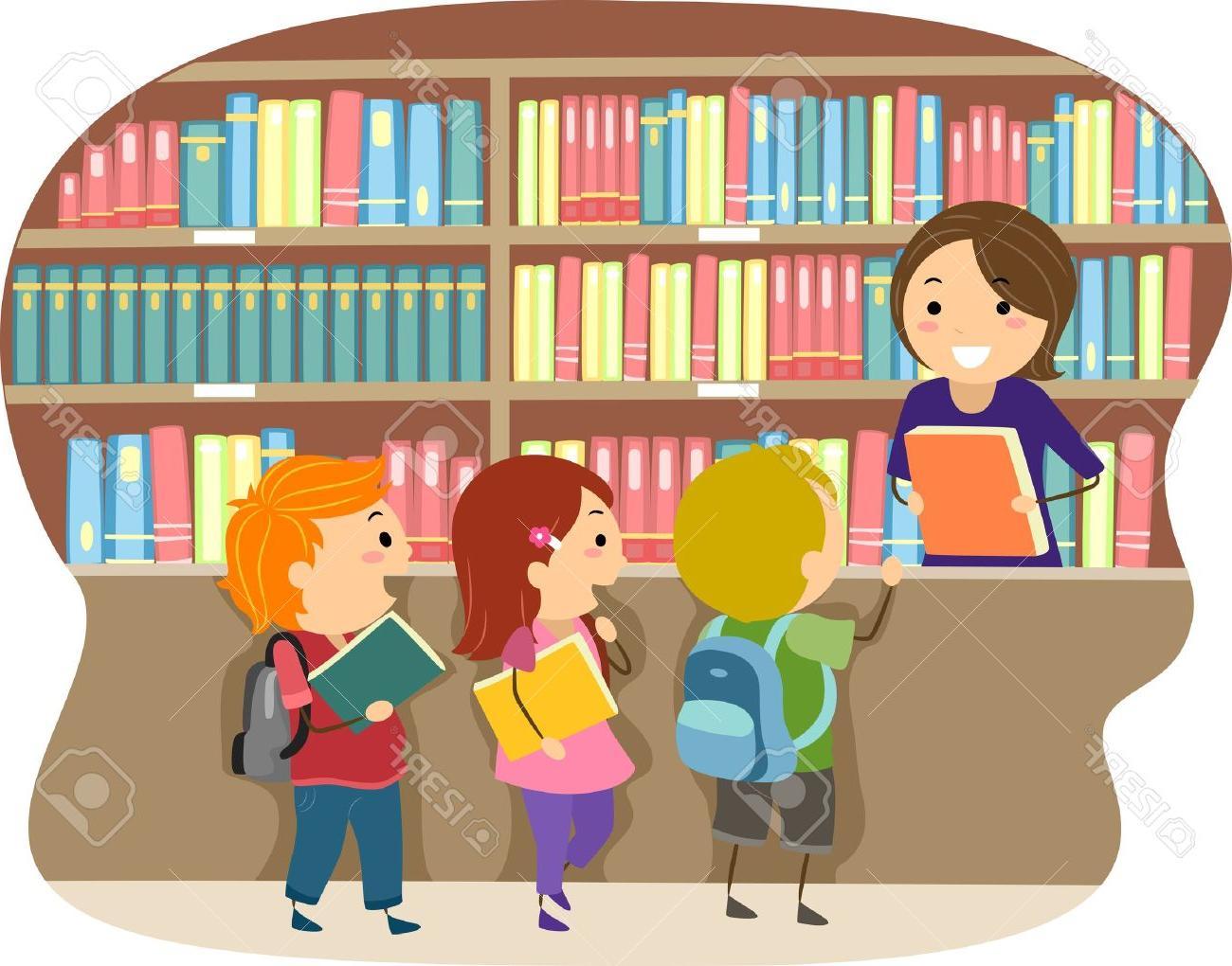 Unique school clip art. Library clipart