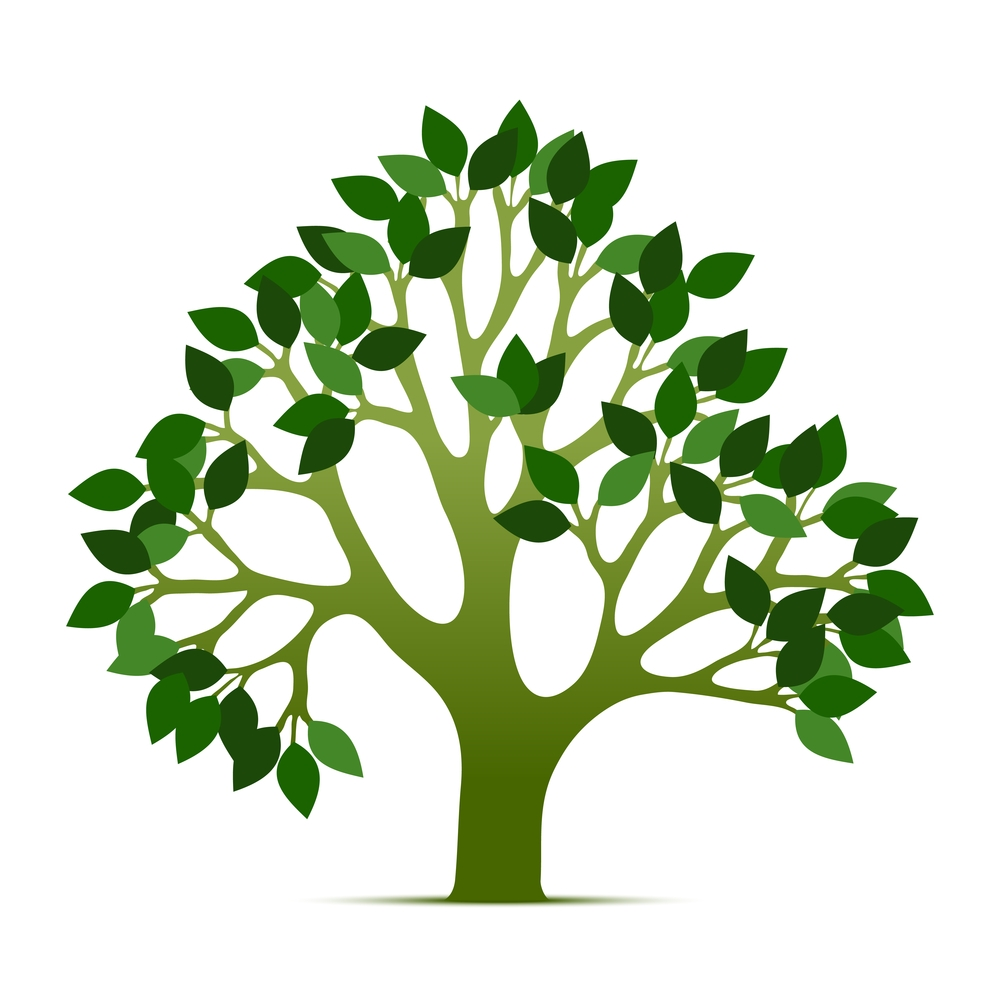 Awesome tree of collection. Life clipart