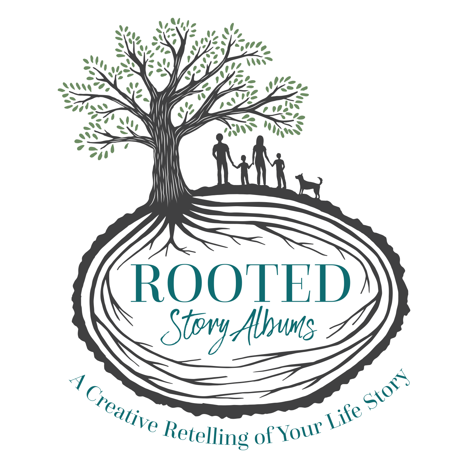 Rooted storyalbums about page. Memories clipart learning and memory