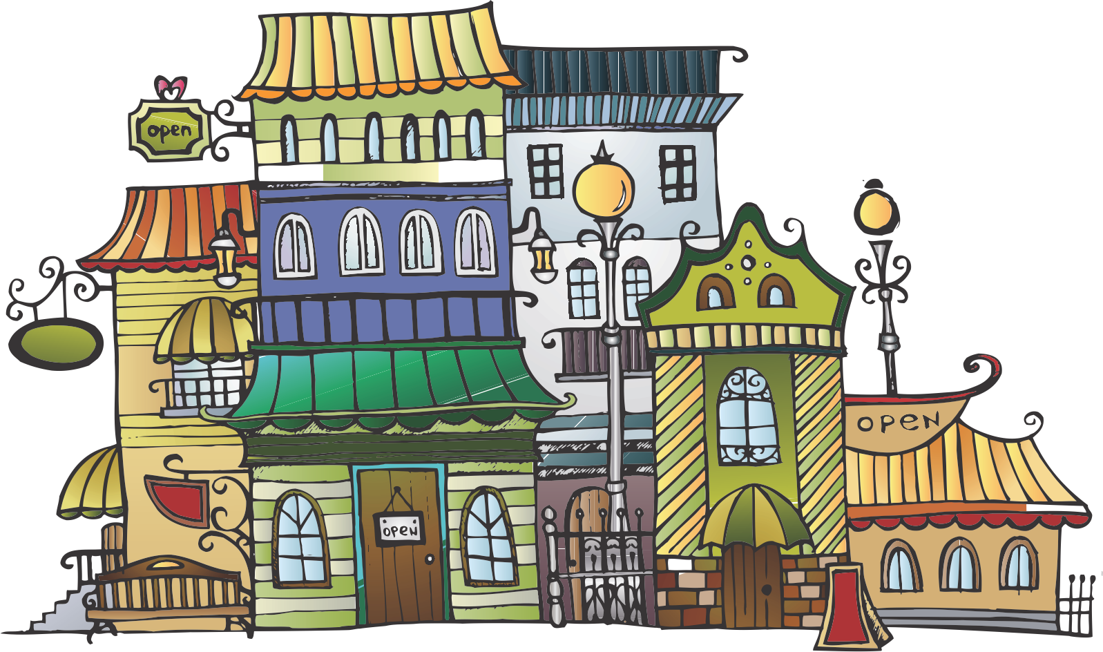 Neighbors clipart village.  collection of transparent