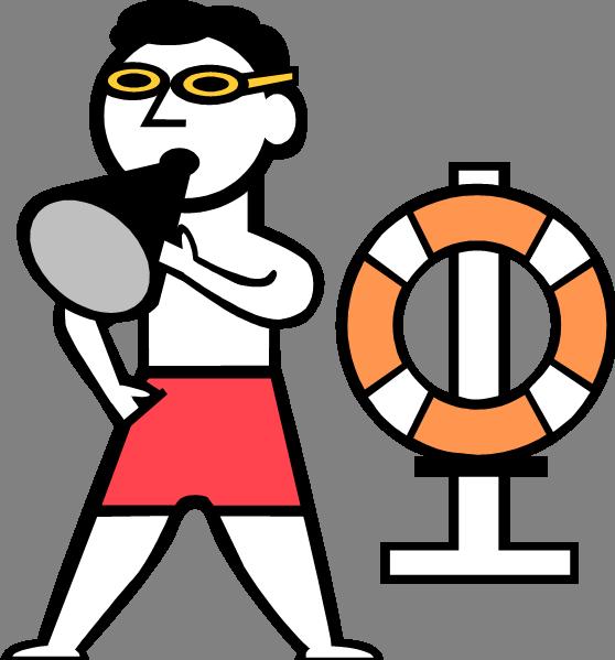 Panda free images lifeguardclipart. Lifeguard clipart