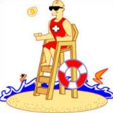 Lifeguard clipart. Free
