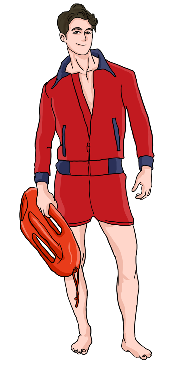 Lifeguard clipart animated. Free cliparts download clip