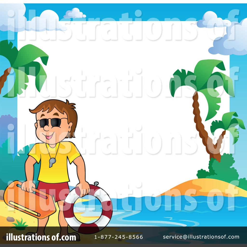 Illustration by visekart . Lifeguard clipart border
