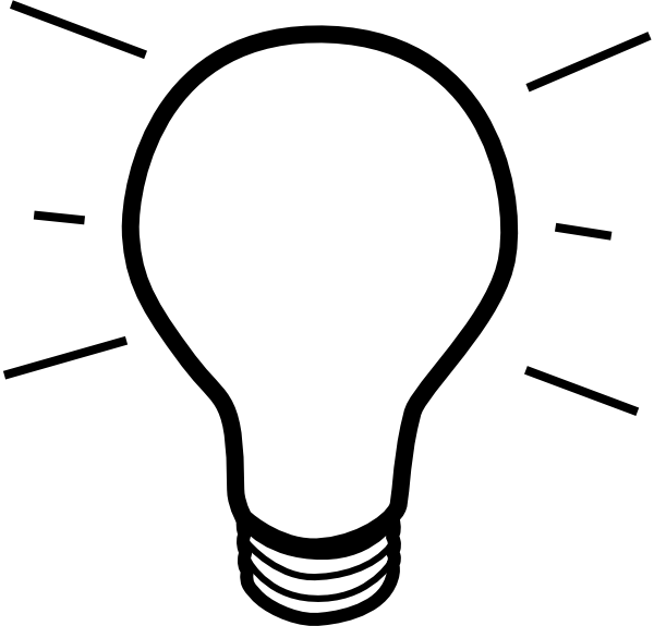 Lamp clipart drawing. Light bulb clip art