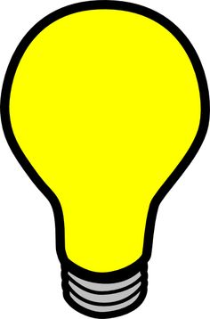 Light bulb clip art. Schooling pinterest vector online