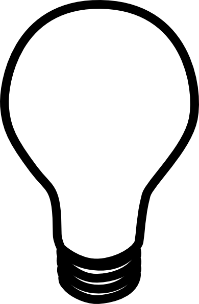 Light bulb clip art black and white. Clipart panda free lampclipartblackandwhite