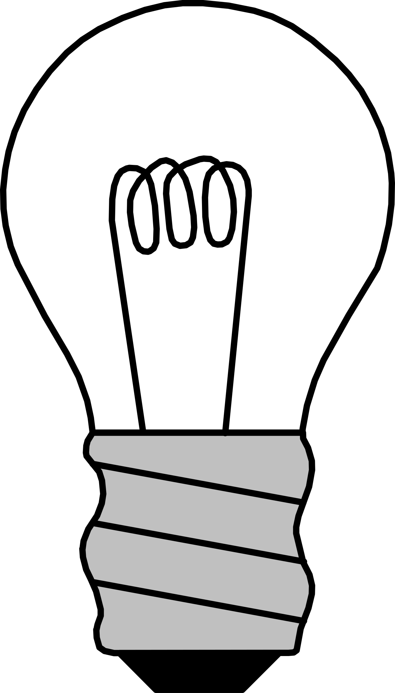 Off icons png free. Light bulb clip art black and white