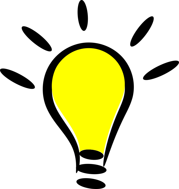 Light bulb clip art clear background. Png images free icons