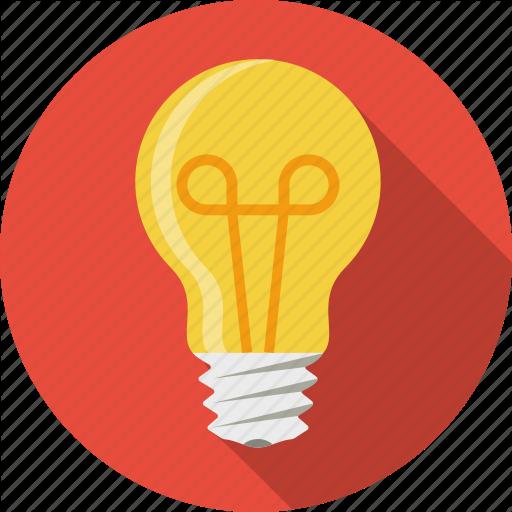Light bulb clip art creative. Iconfinder flaturici set by