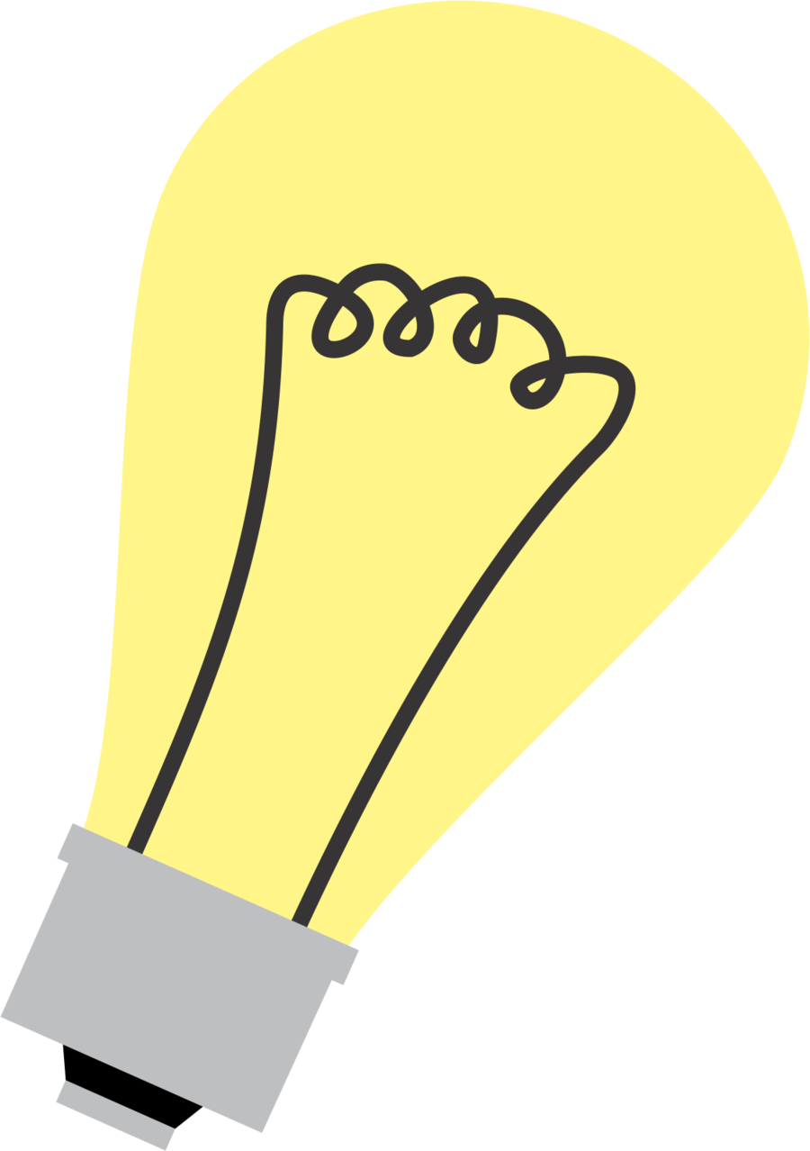 Light bulb clip art cute. Cutie mark by noxwyll