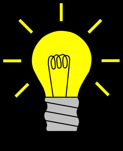 Light bulb clip art cute. Clipart page clipartaz free