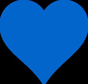 Light bulb clip art heart. Blue clipart