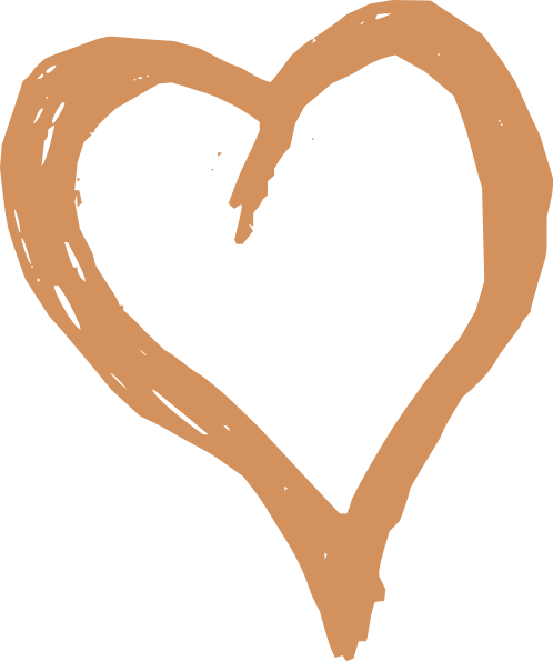 Brown at clker com. Light bulb clip art heart