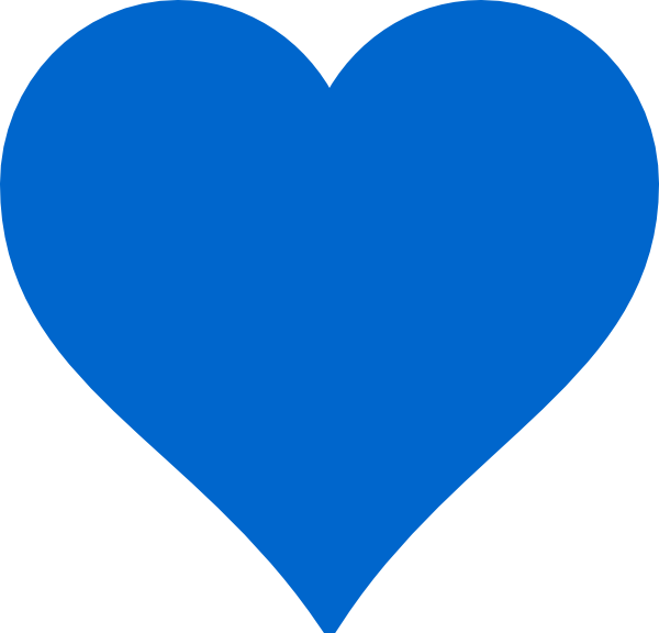 Light bulb clip art heart. Blue at clker com