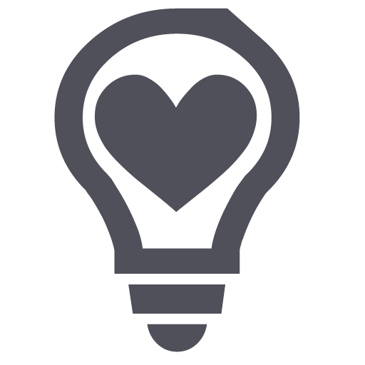 Light bulb clip art heart. Iconfinder app types in