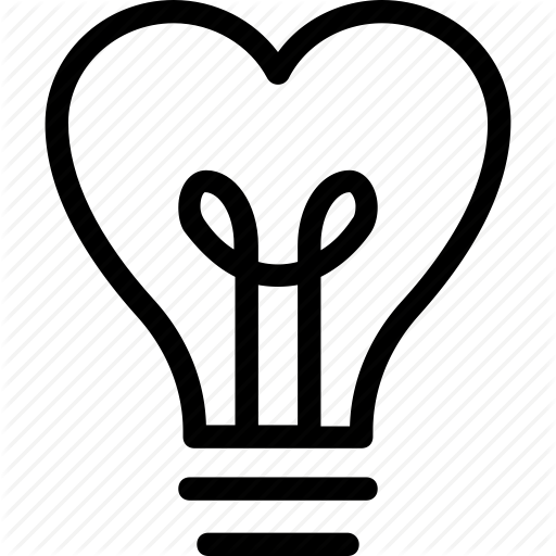 Clipart pencil and in. Light bulb clip art heart