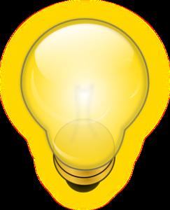 Light bulb clip art public domain. Glowing at clker com