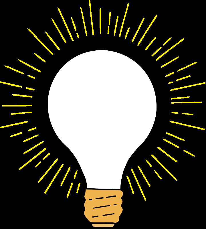 Free lightbulb clipart pages. Light bulb clip art public domain