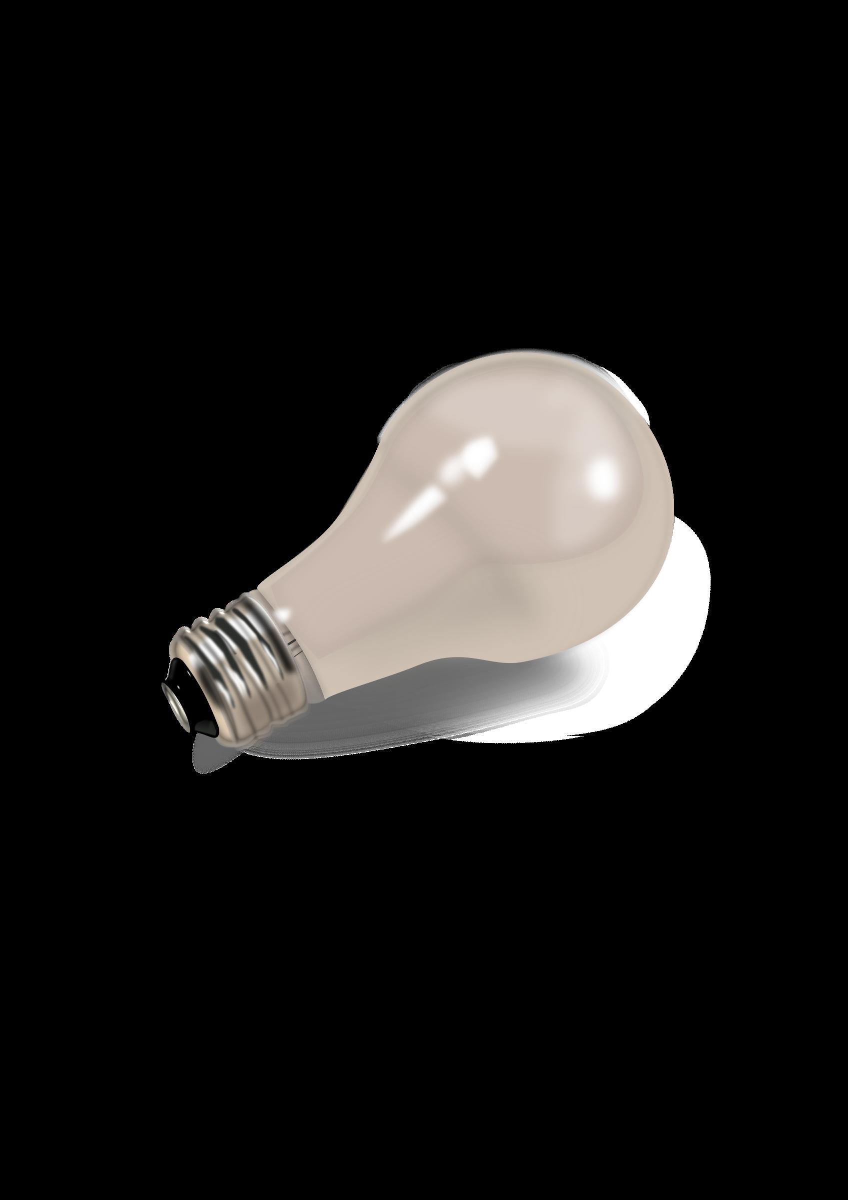 Clipart lampadina big image. Light bulb clip art realistic