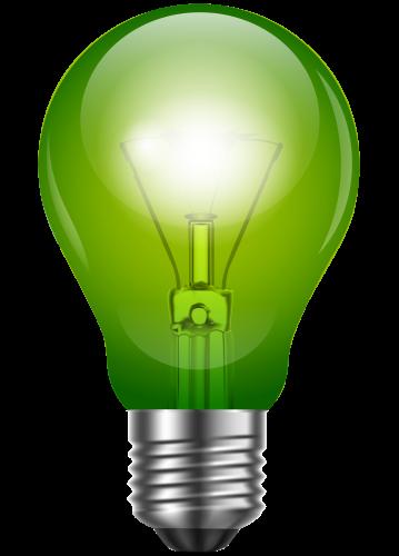 Light bulb clip art realistic. Green png best web