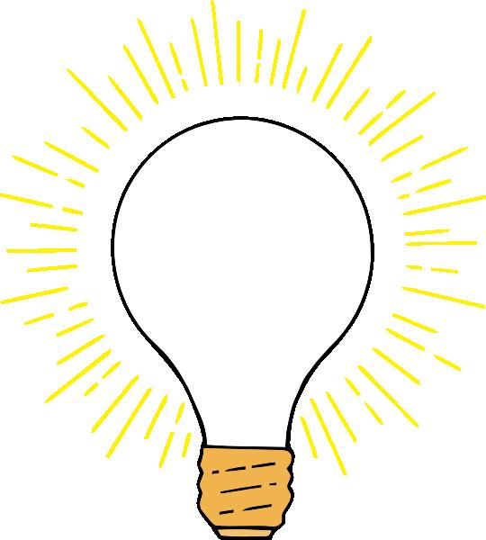 Light bulb clip art retro. Clear lightbulb at clker