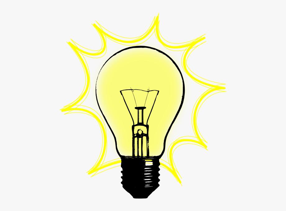 Light bulb lightbulb free. Lamp clipart bilb