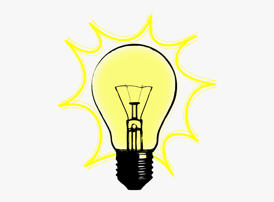 light bulb clip art retro
