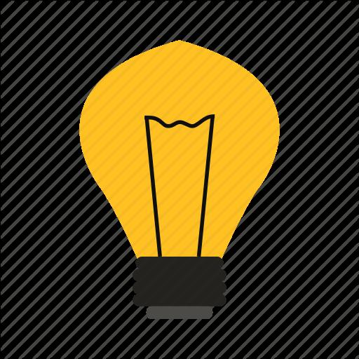 Light bulb clip art silhouette. At getdrawings com free