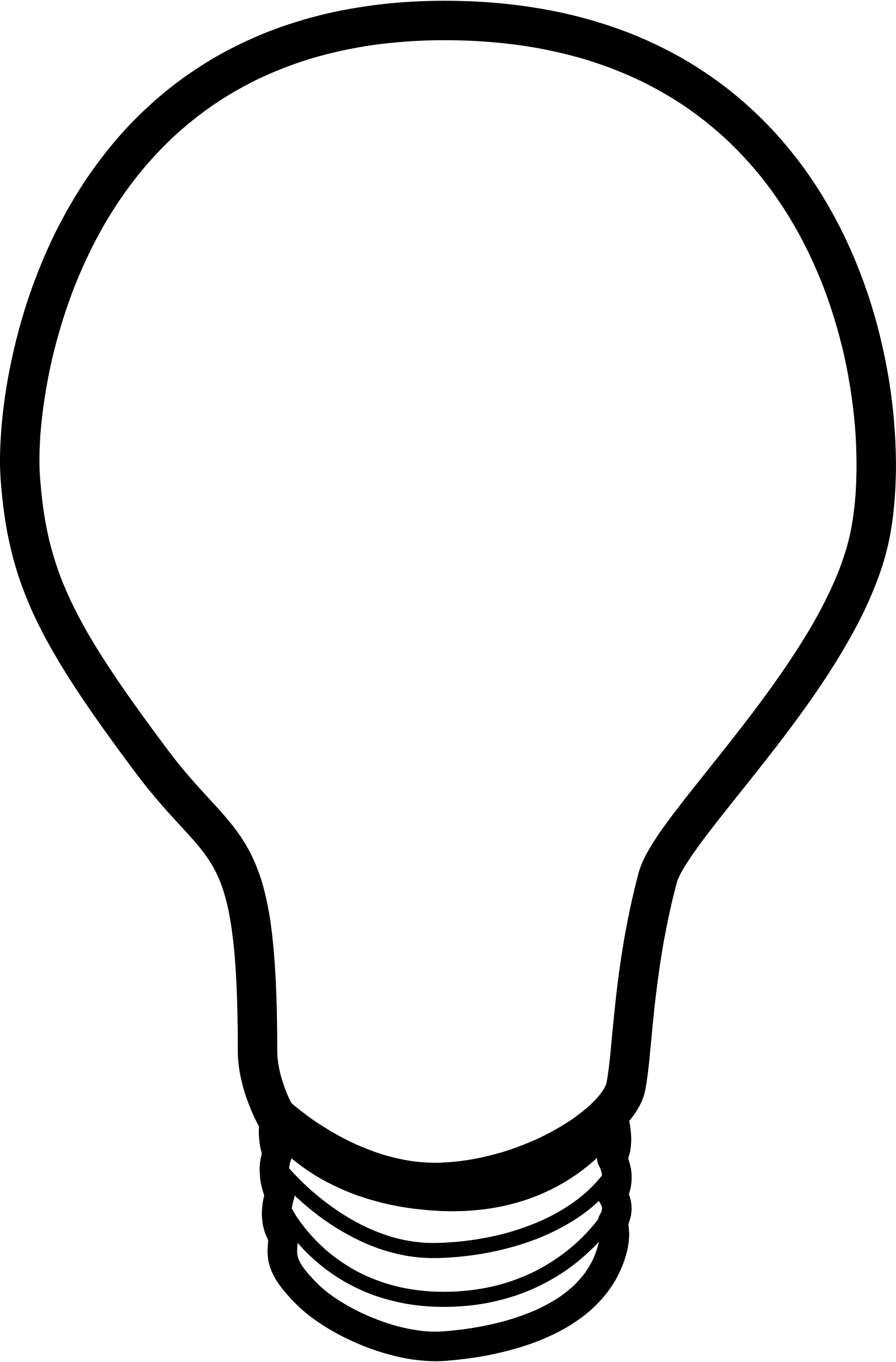 Light bulb clip art silhouette. Drawing clipart panda free