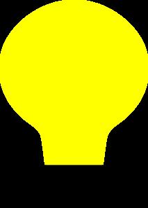 Light bulb clip art simple. At clker com vector