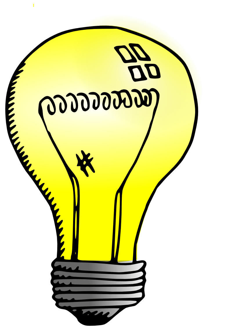 Light bulb drawing transparent. Lamp clipart bright