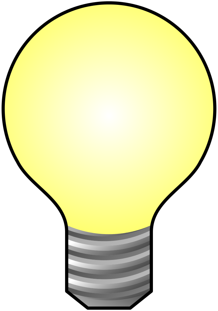 File icon svg wikimedia. Light bulb clip art transparent background