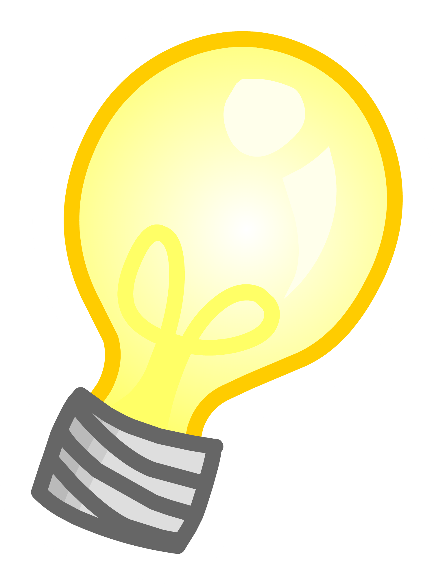 Electrical clipart yellow light bulb. Png images free icons