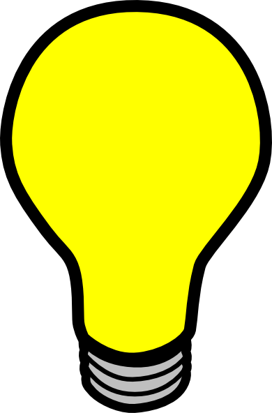 Vector online royalty free. Light bulb clip art transparent background