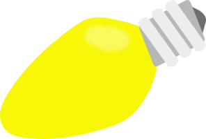 Clipart yellow pencil and. Light bulb clip art vector