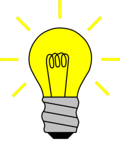 Light bulb clip art vector. On at clker com