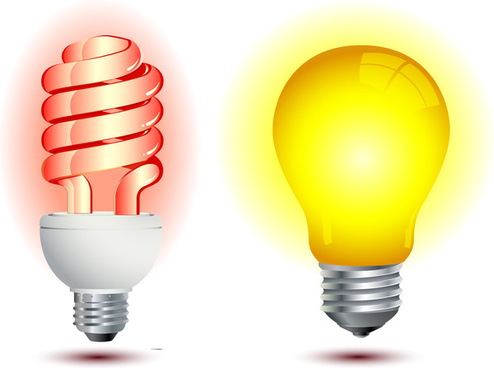 Free download . Light bulb clip art vector