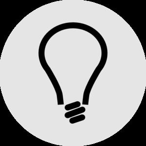At clker com online. Light bulb clip art vector