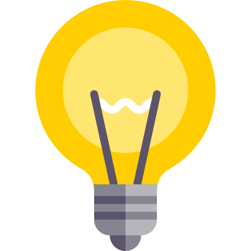 Free technology icons. Light bulb icon png