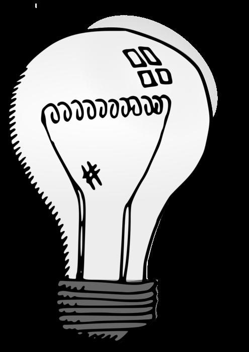 Thoughts clipart lighbulb. Silver light bulb clipartblack