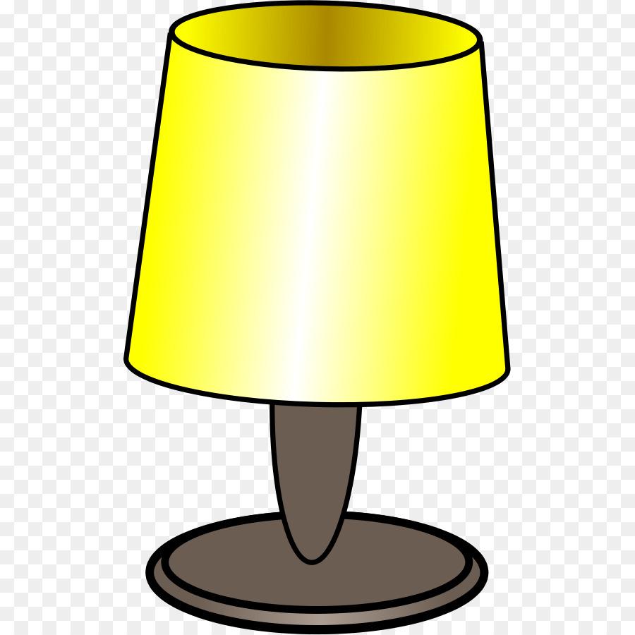 Lights clipart lamp. Light bulb cartoon yellow
