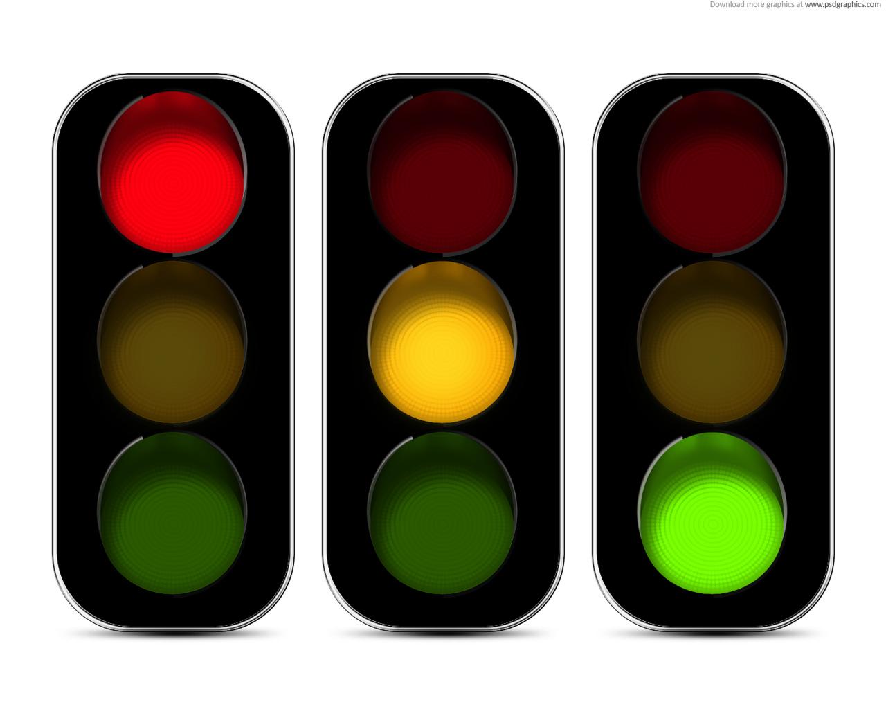 Free green traffic light. Lights clipart yellow