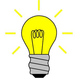 Lightbulb clipart. Light bulb clip art