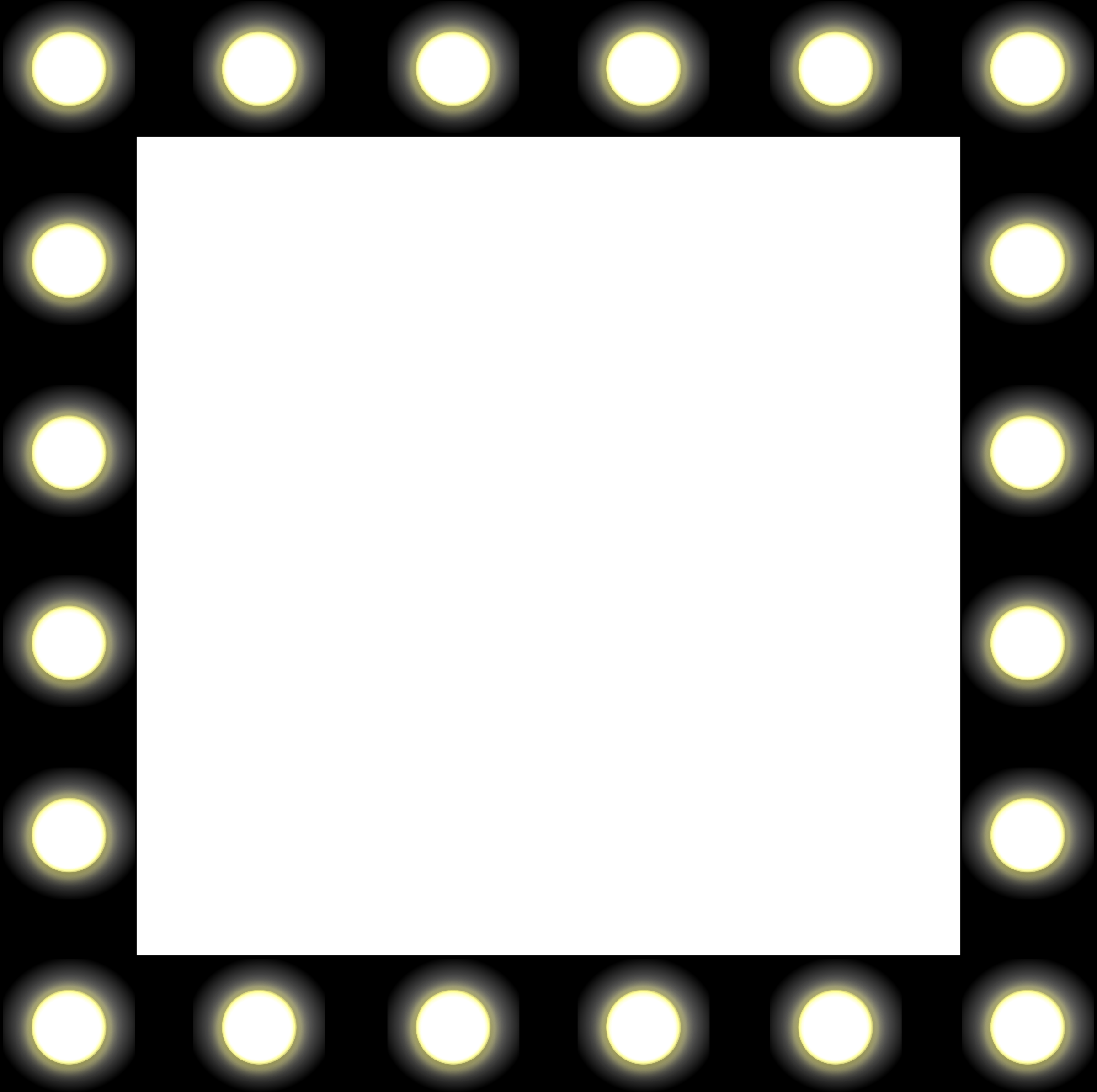 Mirror clipart rectangle mirror. Light bulb border free