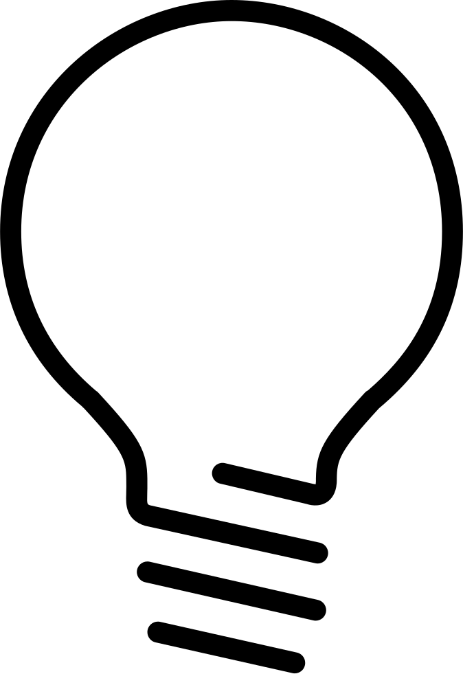 Svg png icon free. Lightbulb clipart educational technology