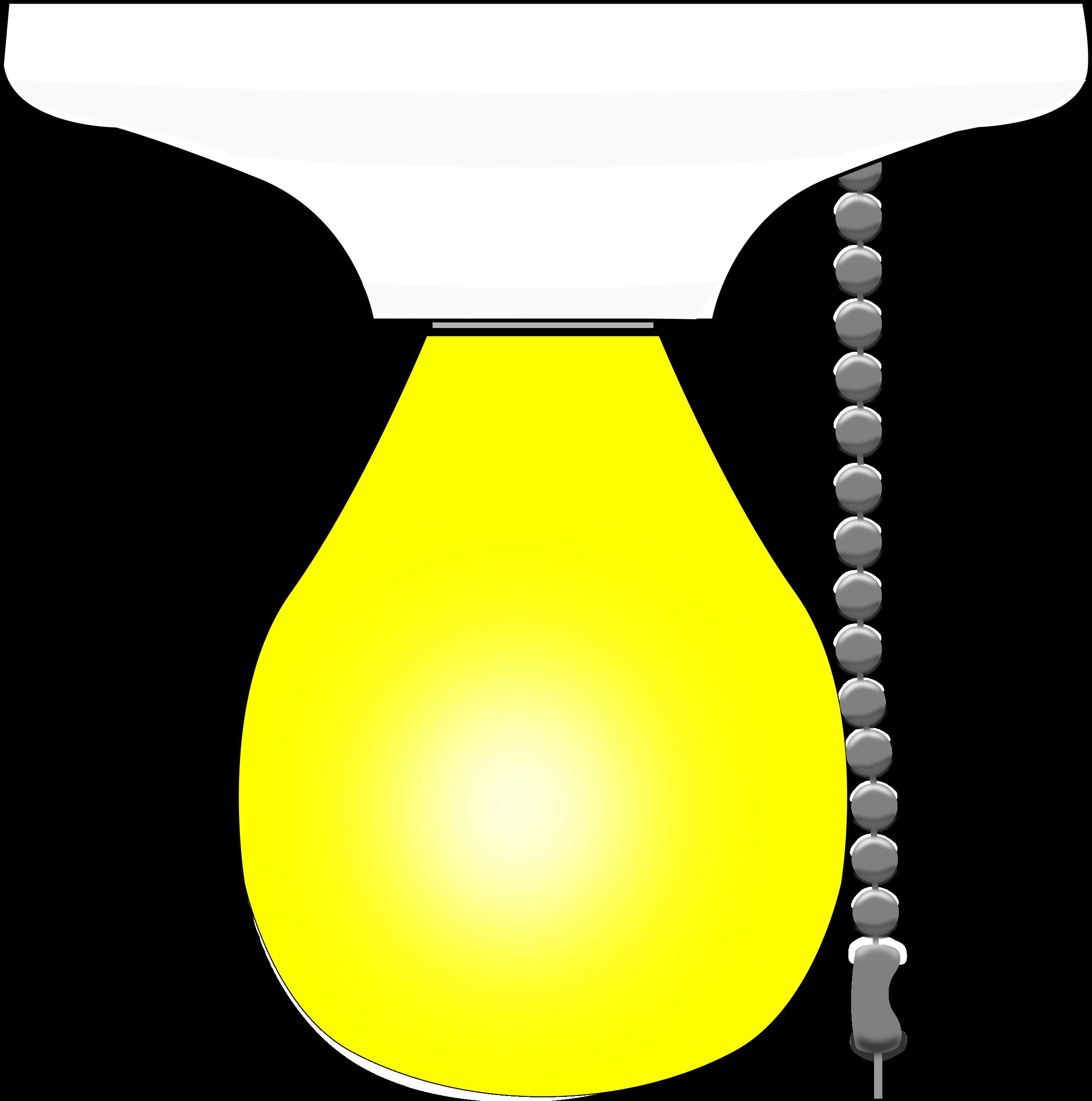 Lightbulb clipart light fixture. Bulb chain big image