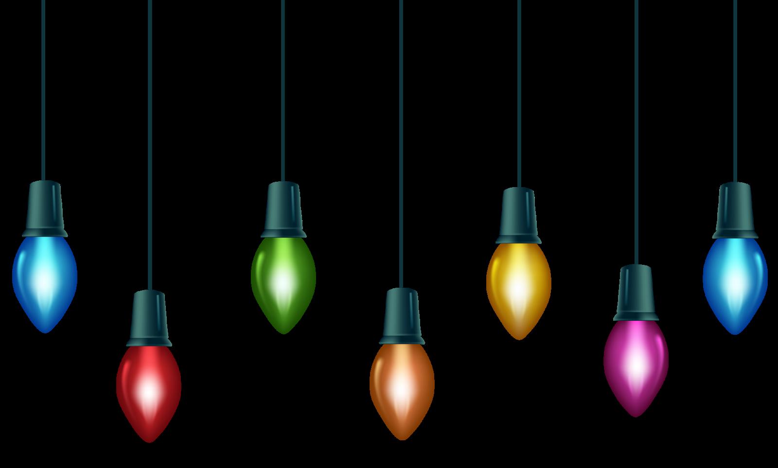 Christmas lights tree clip. Lightbulb clipart light fixture