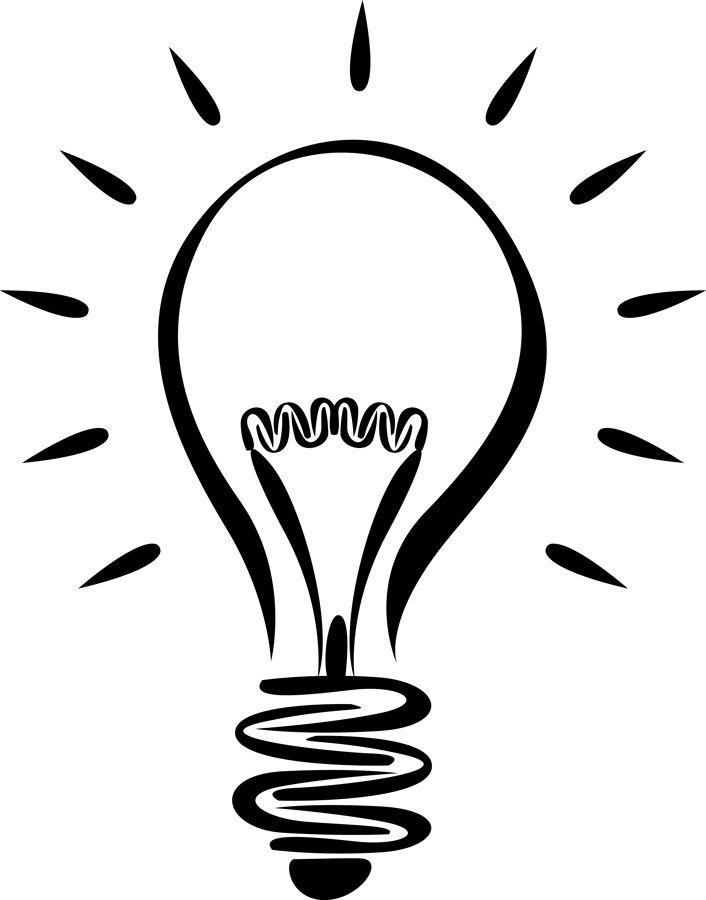 Free light bulb clip. Lightbulb clipart old lightbulb