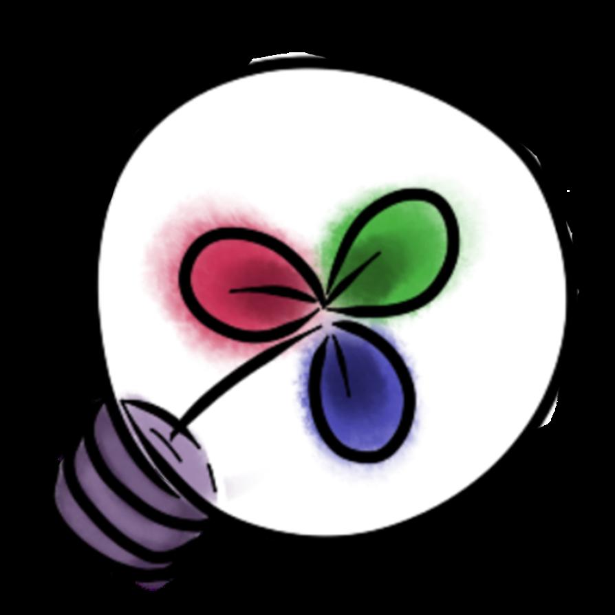Oneshot clover by ectopicfantast. Lightbulb clipart purple